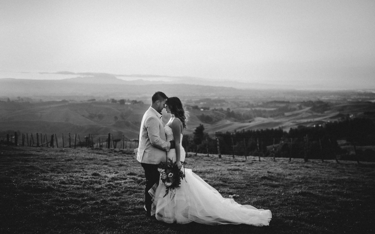 Cam + Chelsea Eagle Ridge Tauranga Wedding