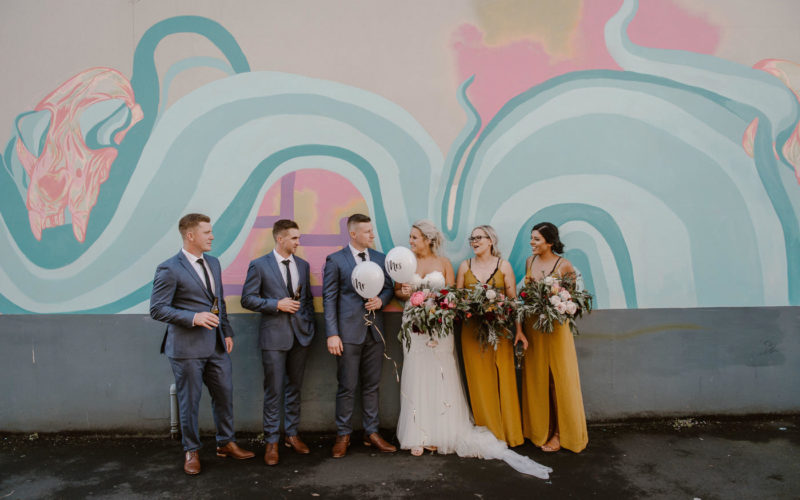 MINIMALIST FLORAL INSPIRED WAIKATO WEDDING
