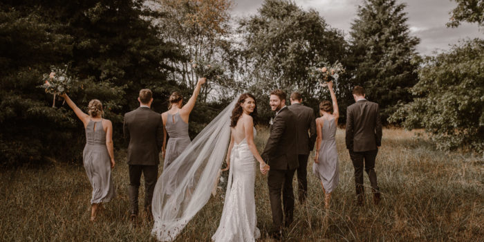 Demi & Cam Coopers Hamilton Garden Wedding Venue
