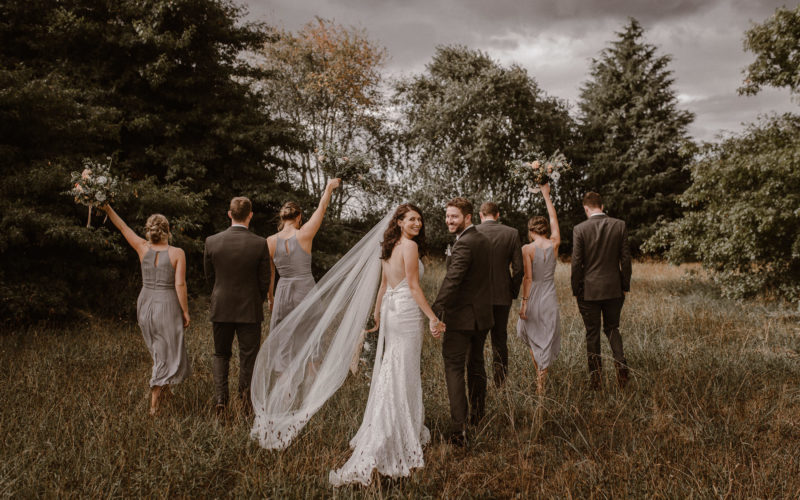 Demi & Cam Coopers Hamilton Garden Wedding Venue